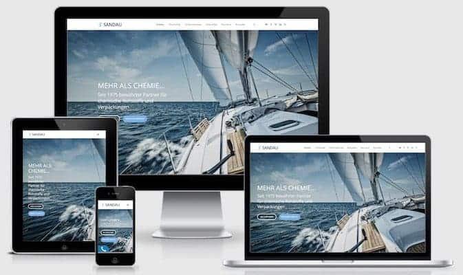 Homepage SANDAU GmbH